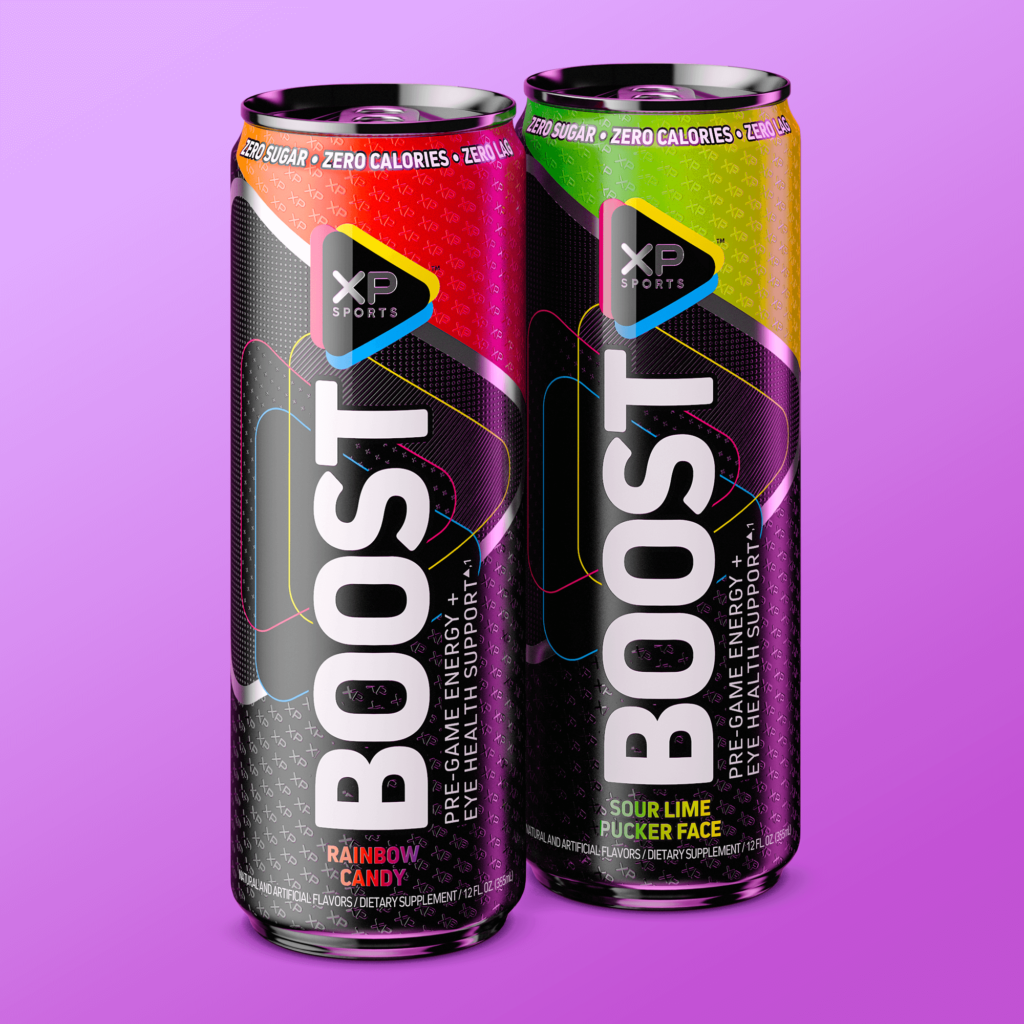 XP Boost Energy Drink Can